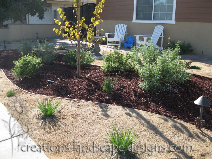 Front yard landscape ideas in drought weather