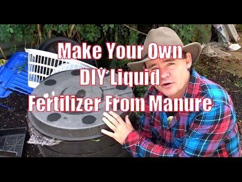 DIY Liquid Fertilizer Methods That Get Results - YouTube