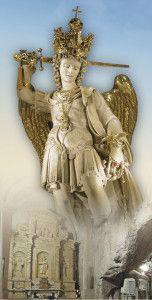 Saint-Michel-Garagano _ Saint Michel archange, priez pour nous!!