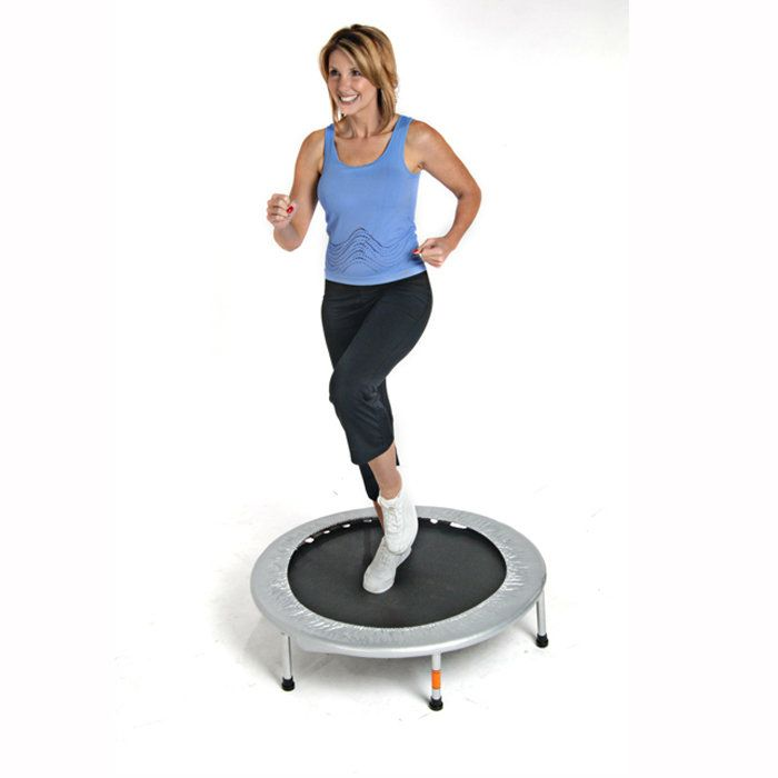 From beginner to advanced fitness enthusiast the Stamina 4-Way Folding Mini Trampoline offers an exciting new low impact cardiovascular workout with the benefits of a portable piece.