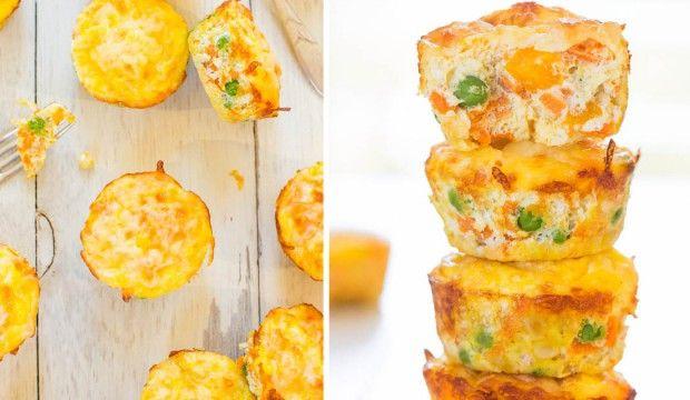 Zeleninové muffiny bez mouky - Čarujeme