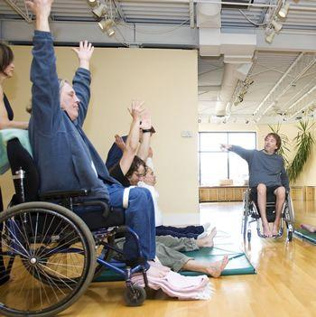 adaptive yoga with Matthew Sanford