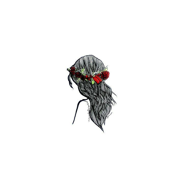 Hair doodle