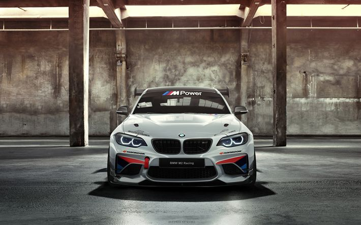 Download wallpapers AC Schnitzer, tuning, 4k, BMW M235i Racing Cup, 2018 cars, sportscars, BMW