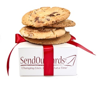 Did you know you can add cookies or even brownies to your card?  Do it now before you forget...