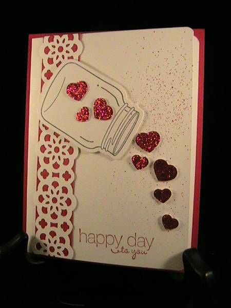 Hearts in a Jar - Stamp Class 1/13 by susie nelson - Cards and Paper Crafts at Splitcoaststampers