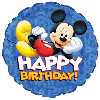 112 best BIRTHDAY WISHES with MICKEY MOUSE images on Pinterest