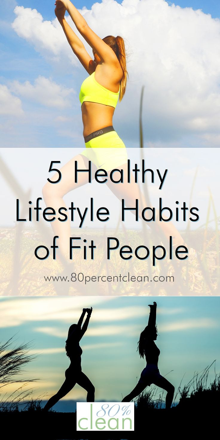 Struggling to keep the weight off? Feel like others keep fit easier than you? Try copying the 5 healthy lifestyle habits that fit people do every day.