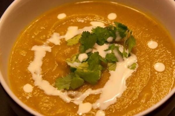 Parsnip Soup - Σούπα με παστουνάκι