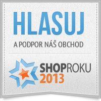 Gabonga.sk sa uchádza o Vašu priazeň v ankete ShopRoku 2013. Hlasujte a podporte rastúci e-shop, ktorý je pro-zákaznícky orientovaný a už niekoľko ocenení tento rok ziskal. Ďakujeme za Váš hlas
