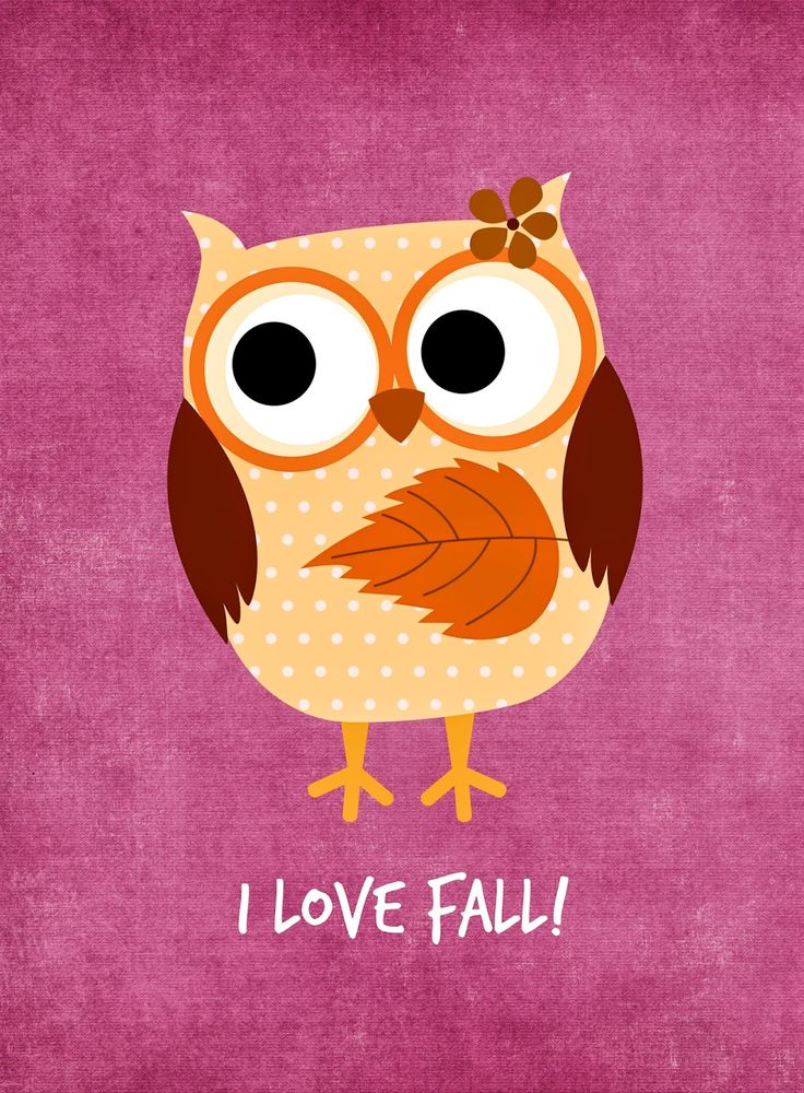 Free Fall Owls Printables from Glued To My Crafts