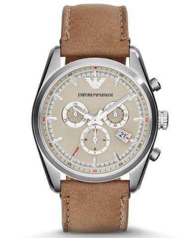 Emporio Armani Tazio Sportivo Chrono Watch AR6040 Campbell Jewellers Dublin Ireland