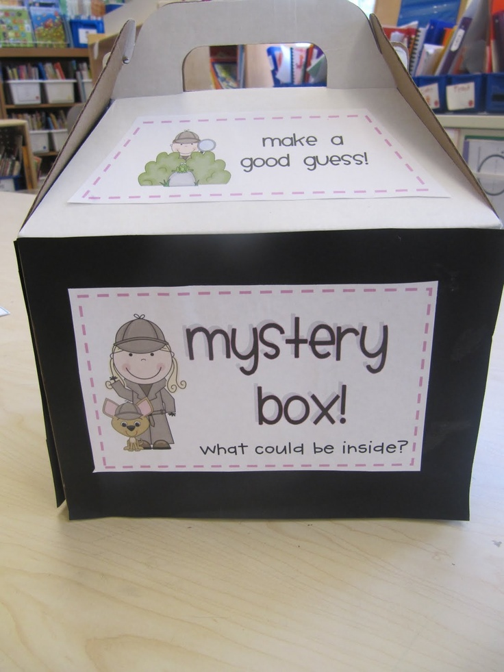 Use the mystery box to teach the definition of prediction at the beginning of the mini lesson.
