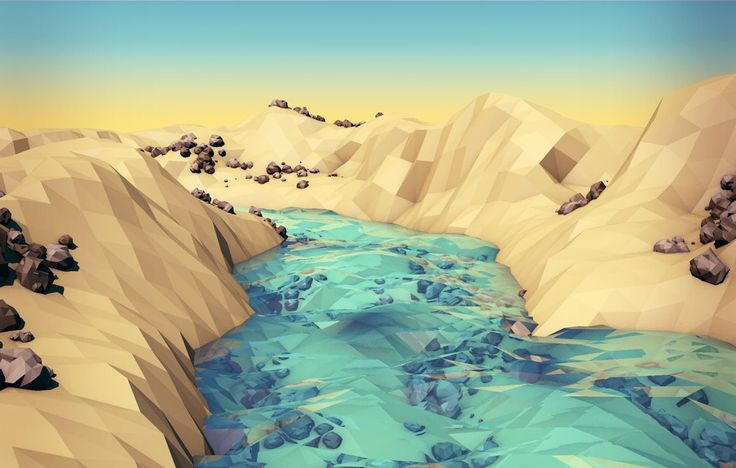 Low Poly Valley
