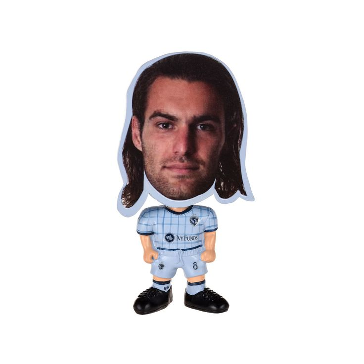Forever Collectibles Sporting Kansas City Graham Zusi Figurine, Multicolor
