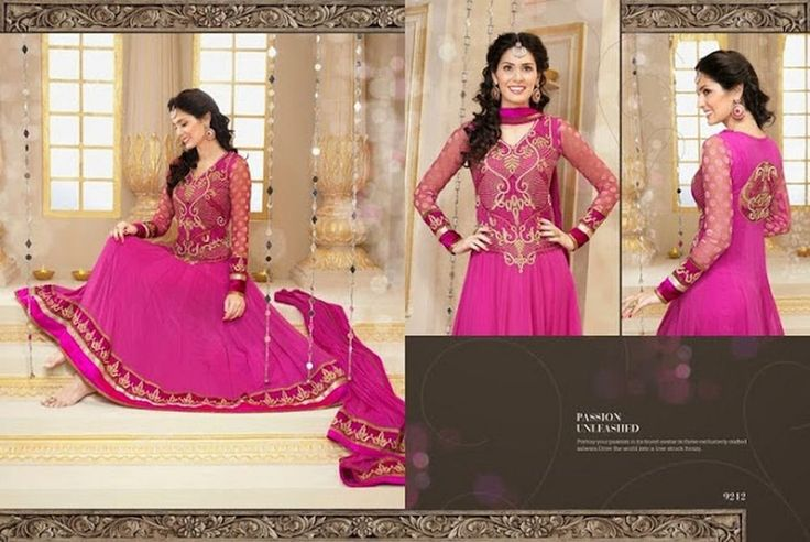 Semi Stiched Designer Collection Faux Georgette Designer Anarkali