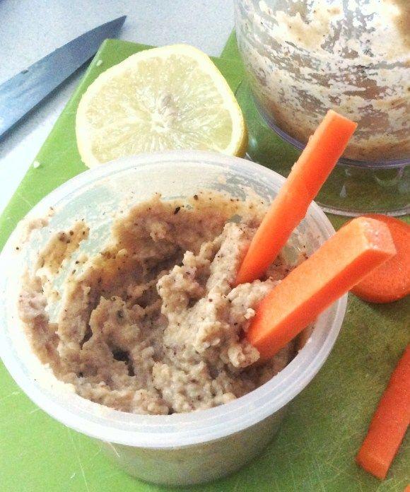 Spicy vegan cauliflower hommus dip - Opti Cook