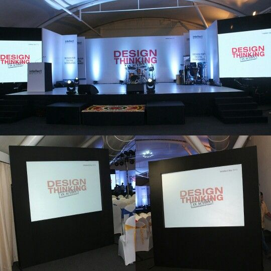 Intellect Design Thinking!! Event done by Curtain Call Events!!