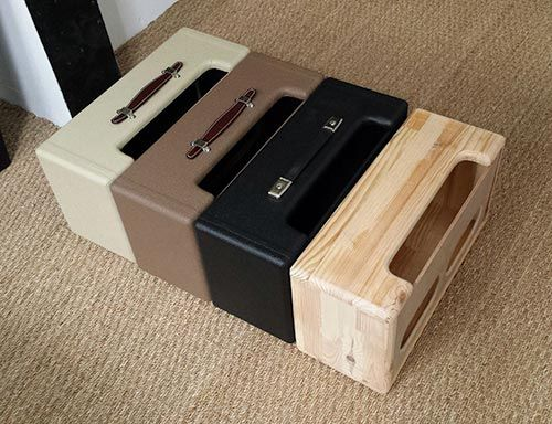 Surfer Joe Music - SURF MUSIC STORE - BOOST CABS - FENDER REVERB UNIT CABINET NAKED WOOD