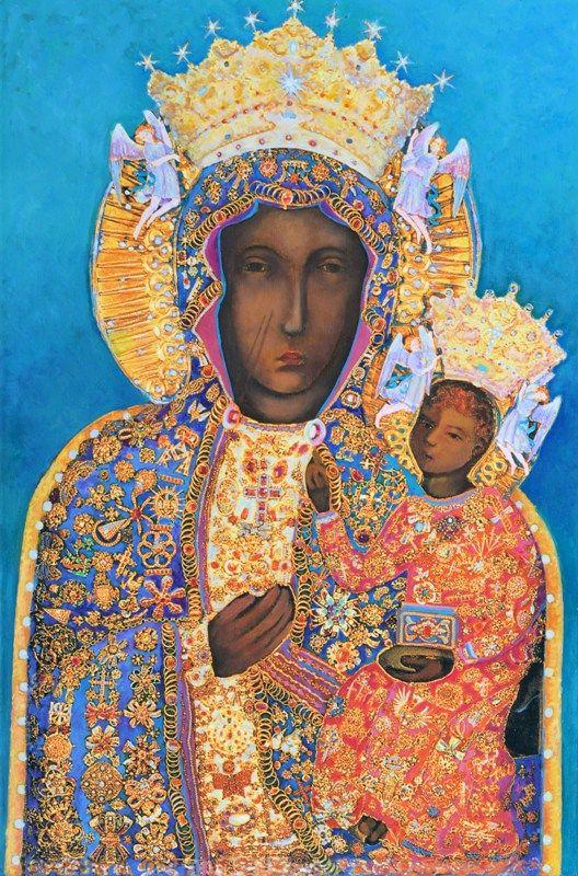 Ikona Matki Boskiej Częstochowskiej Czarna Madonna