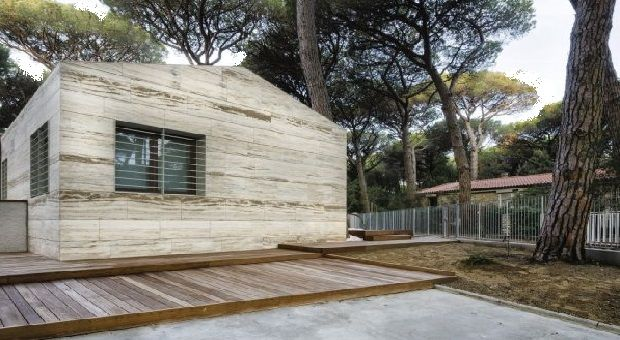 Wood Frame Summer House