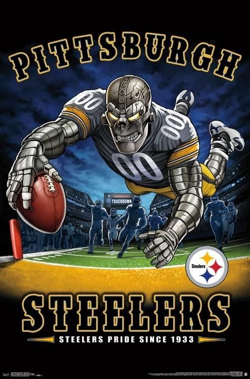 Pittsburgh Steelers Steelers Pride Since 1933 NFL Theme