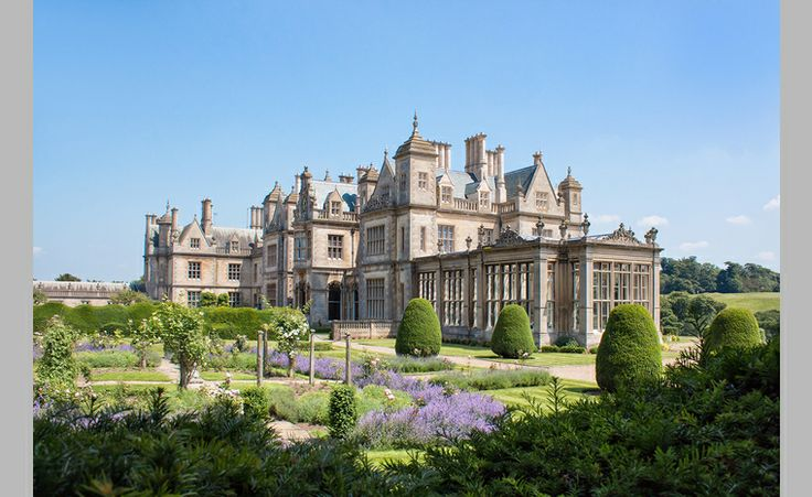 stoke rochford hall is a stunning victorian mansion house