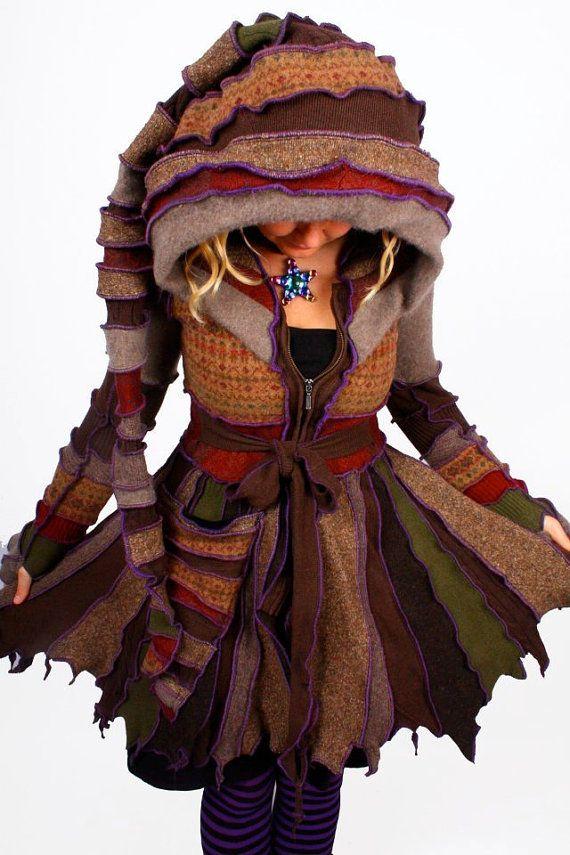 230 best Fairy / Elf Sweater Coats images on Pinterest