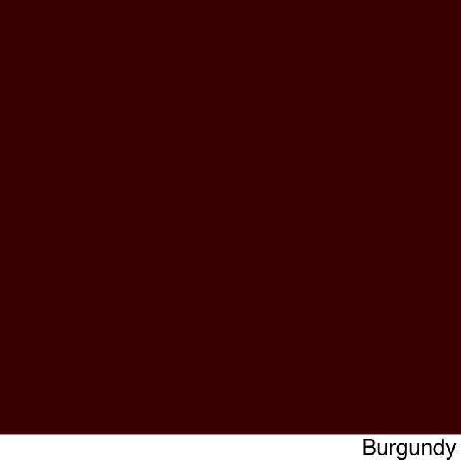 Blazing Needles 60 X 19 Inch Solid Indoor Bench Cushion (Burgundy), Red