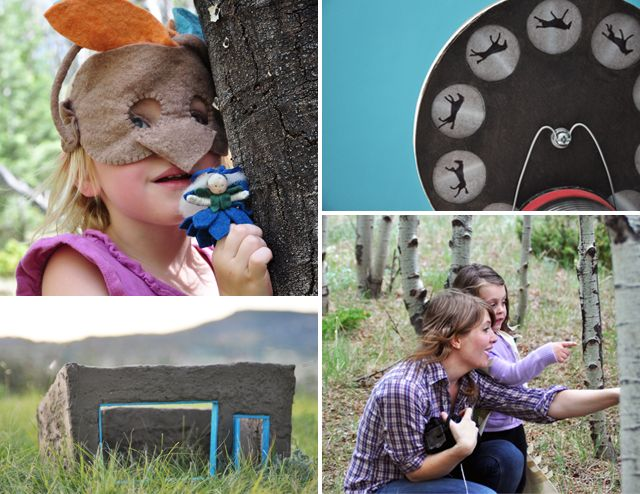 Sneak peek at IMAGINE CHILDHOOD: Exploring the World Through Nature, Imagination, and Play- 25 Projects that spark curiosity and adventure.Felt Animal