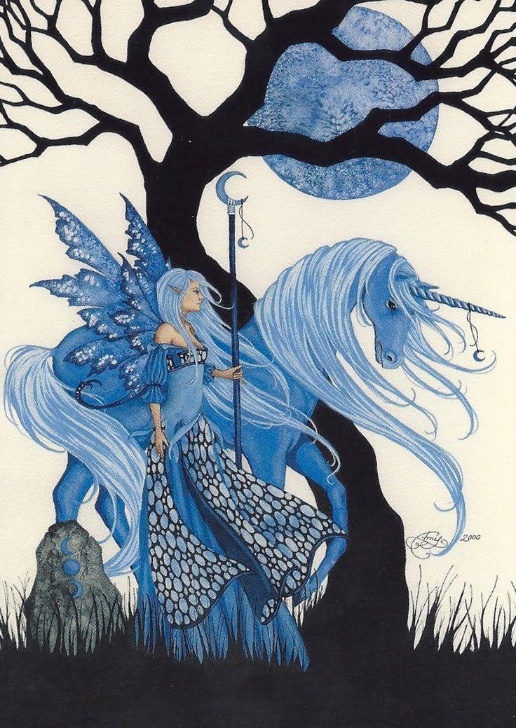 Fairy and Unicorn Art by Amy Brown ♡♥️♡♥️♡♥️!!! ;-)  Loved by #unicornswonderland.com (scheduled via http://www.tailwindapp.com?utm_source=pinterest&utm_medium=twpin&utm_content=post135545147&utm_campaign=scheduler_attribution)