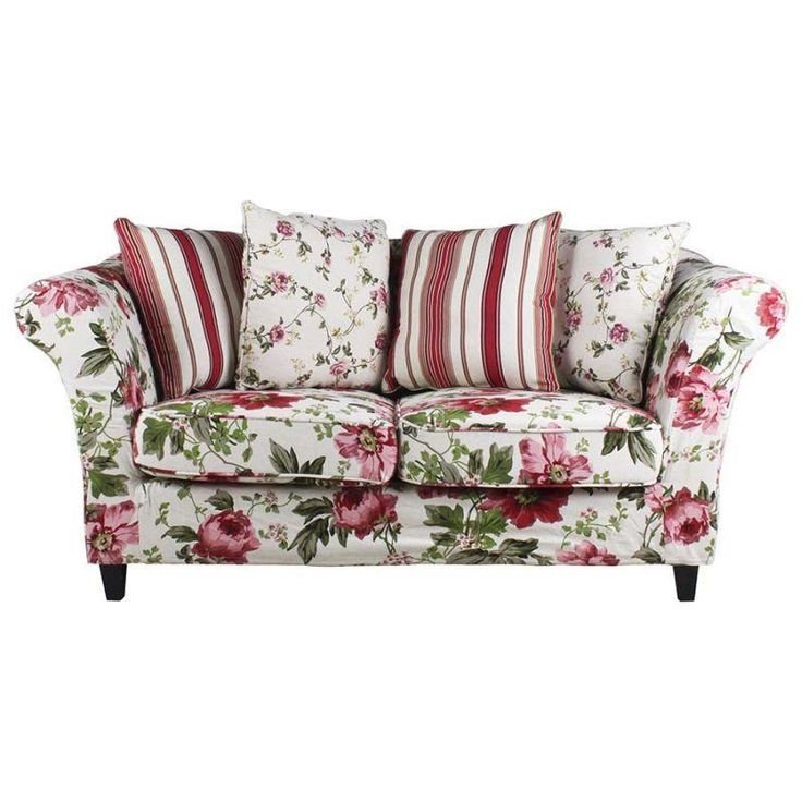 Beautiful #romantic two seater #floral #sofa! www.inart.com