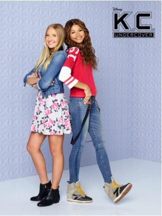 """This is K.C.'s BFF Marisa. Yeah, she has no idea about K.C.'s spy life. Cray. #KCUndercover @/Zendaya @/Veronica_Dunne"""