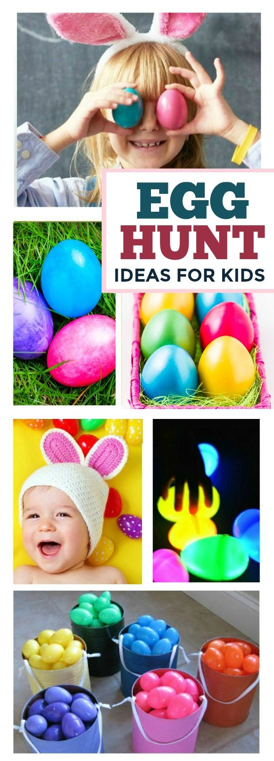 32 EGG HUNT IDEAS FOR KIDS (these are awesome!)