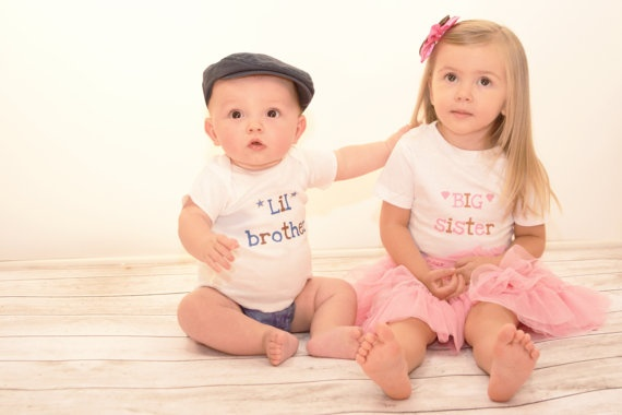 Big Lil Brother and Sister by SeeBabyGrowLLC on Etsy, $14.00
