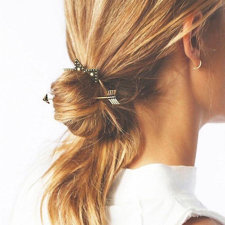 Presente Para As Mulheres menina Penteia o Cabelo Fecho Design Personalizado Varas Do Cabelo Headwear Acessórios Para o Cabelo Clipe Hairpin em Acessórios Para o cabelo de Das mulheres Roupas & Acessórios no AliExpress.com | Alibaba Group