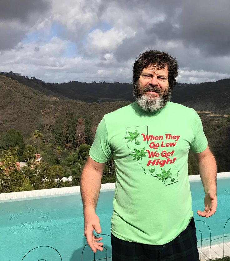 Nick Offerman getting political