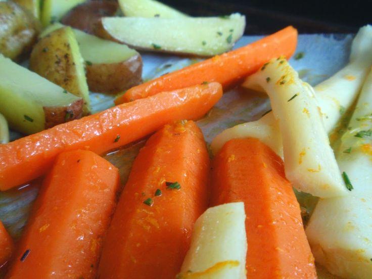 Aneta Goes Yummi: Jamieho pečená zelenina ako príloha k imaginárnemu...