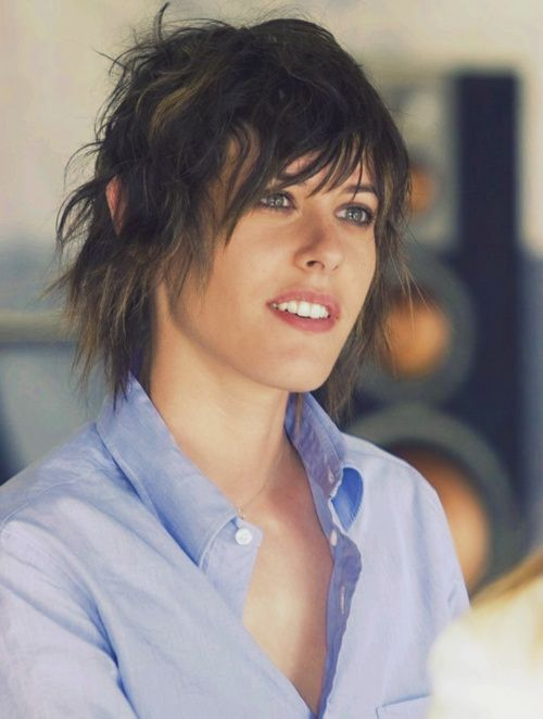 Kate Moenning / Shane Mccutcheon - The L Word. She looked SO GOOD in this scene lol!