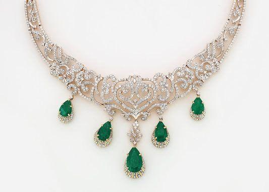 Gold and Diamond jewellery designs: gitanjali jewels ...
