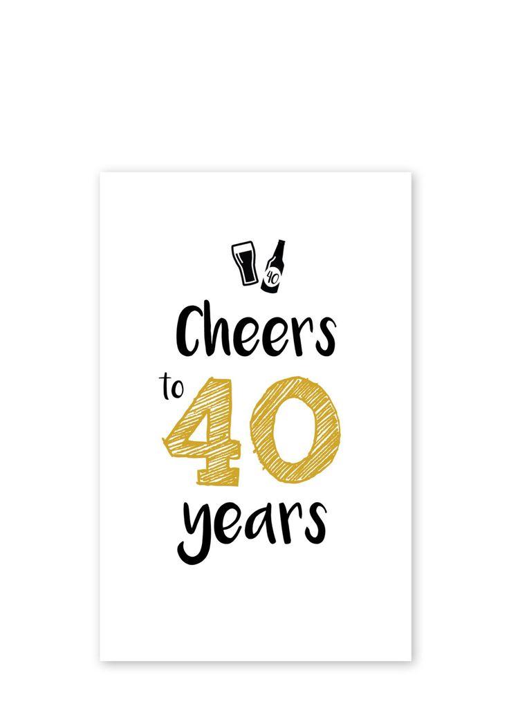 Gedicht 40 Jaar Verjaardag Humor