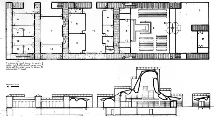 Image result for bagsvaerd church blueprint