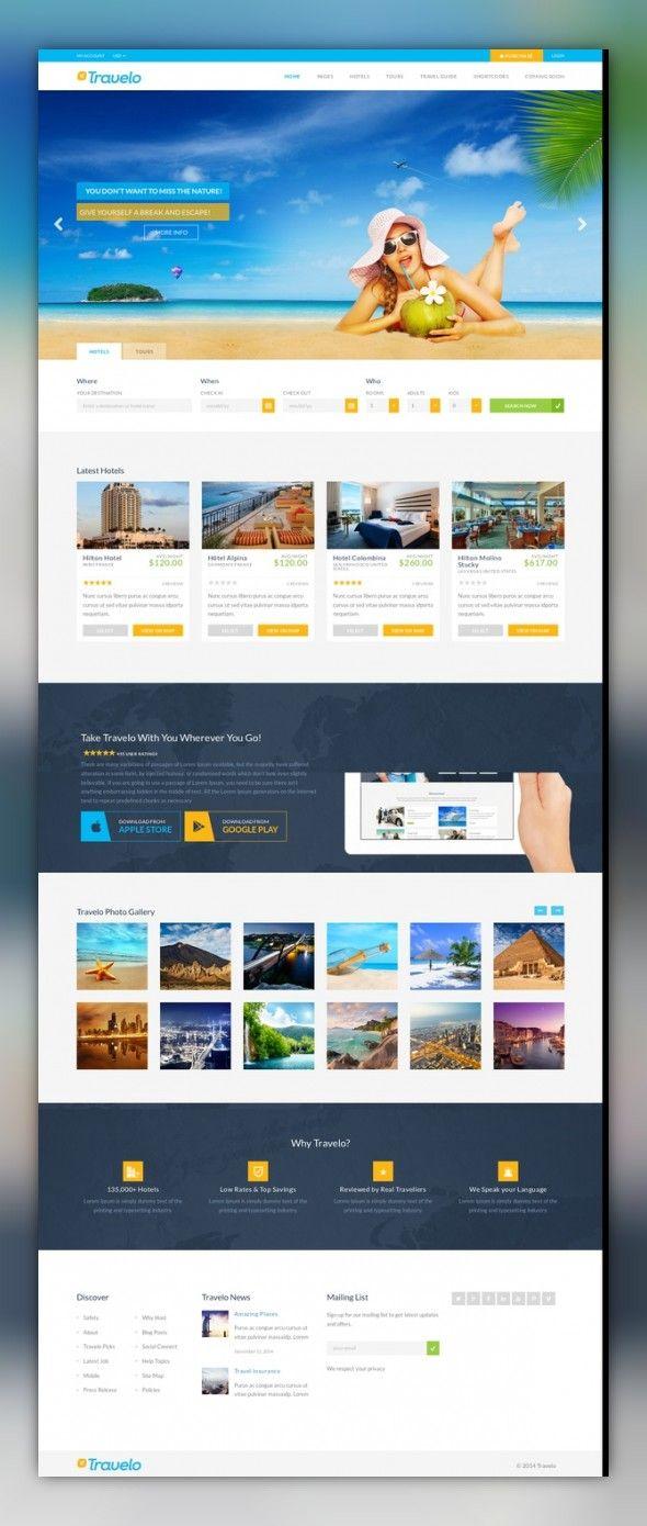 Pin By Videoinfographica Pro Obuchen On Web Site Design Travel Tours Wordpress Theme Wordpress Theme Responsive