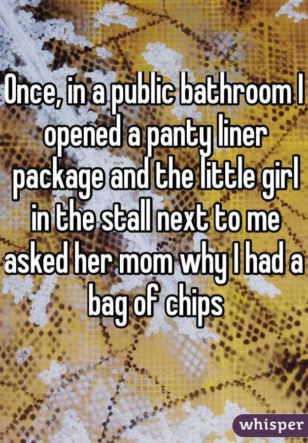 17 Outrageously Embarrassing Period Confessions - we are all human but that last one is just eeeww!