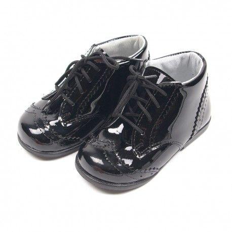 CEREMONY - Buty chłopięce skórzane #lakierki #eleganckiebuty