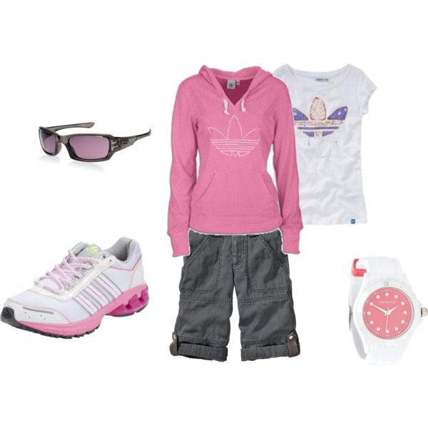 Adidas outfit: Clothes Style, Fitness, Clothing, Outfits Fo, Dress, Summer Outfits, Workout Outfits, Outfits Summer, Sporty Outfits