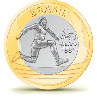 Moedas - Rio 2016 - Atletismo                                                                                                                                                     Mais