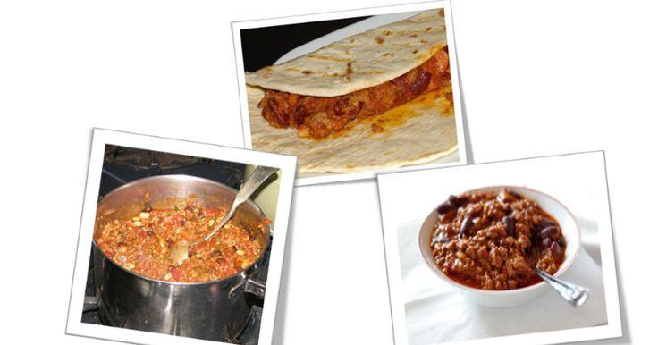 Il mio cibo preferito il Chili