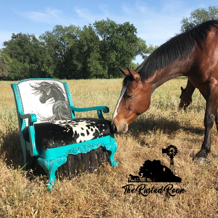 Custom Cowhide Accent Chair. Western Home Decor, Pendleton Upholstery, Cowhide Chair, Custom Upholstery, Equine Decor