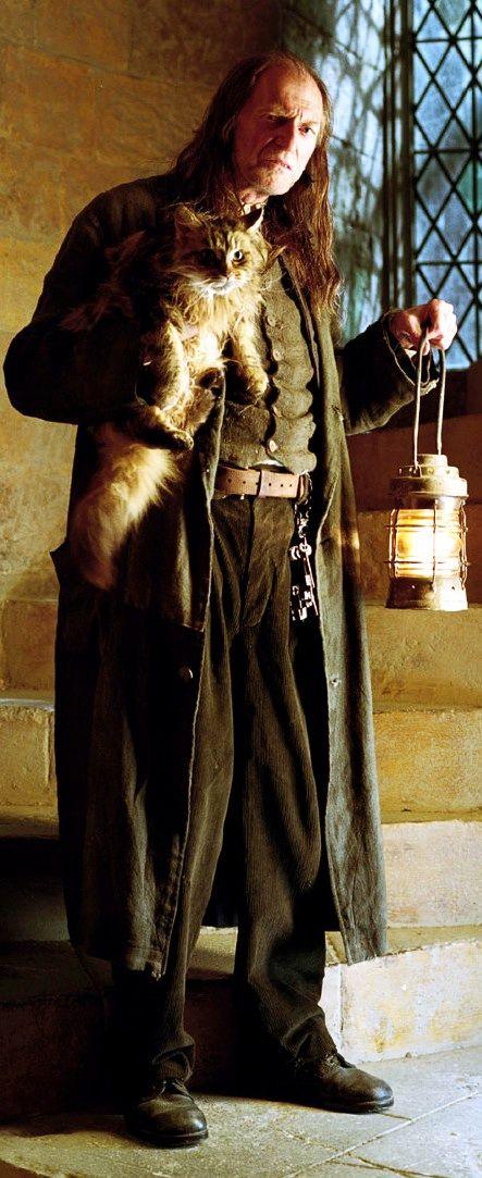Hogwarts Professors Argus Filch From Harry Potter Harry Potter Games Harry Potter Characters Harry Potter Universal